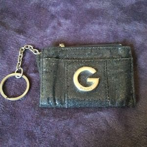 G By Guess mini sparkle coin purse